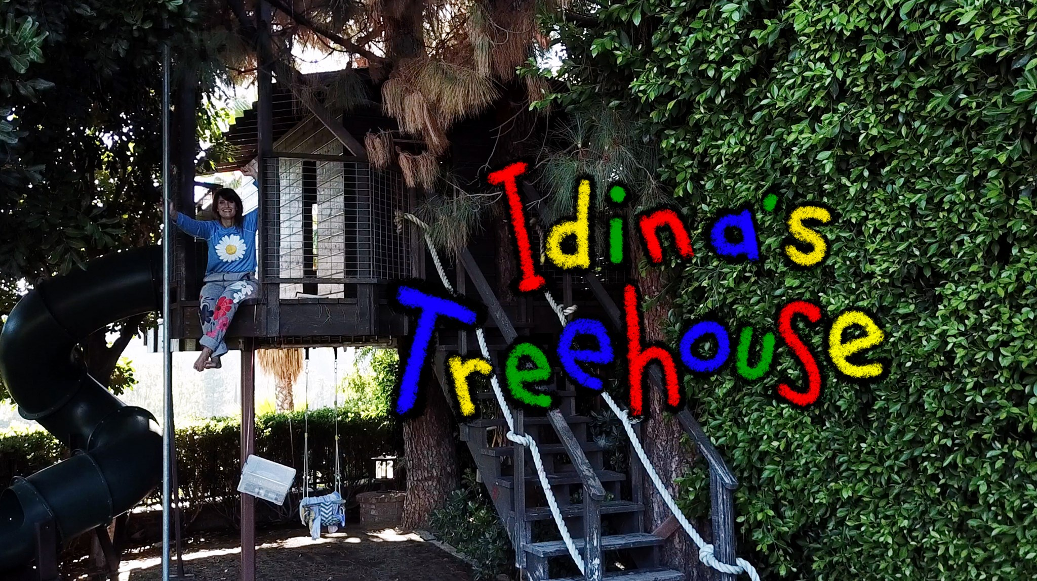 Idina Announces Idina's Treehouse